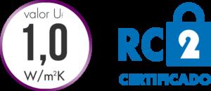 Excelente transmitancia térmica y seguridad certificada RC2