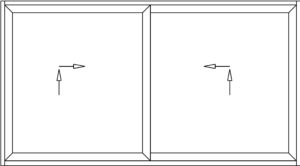 Apertura Esquema D Puerta Corredera Elevable 9000