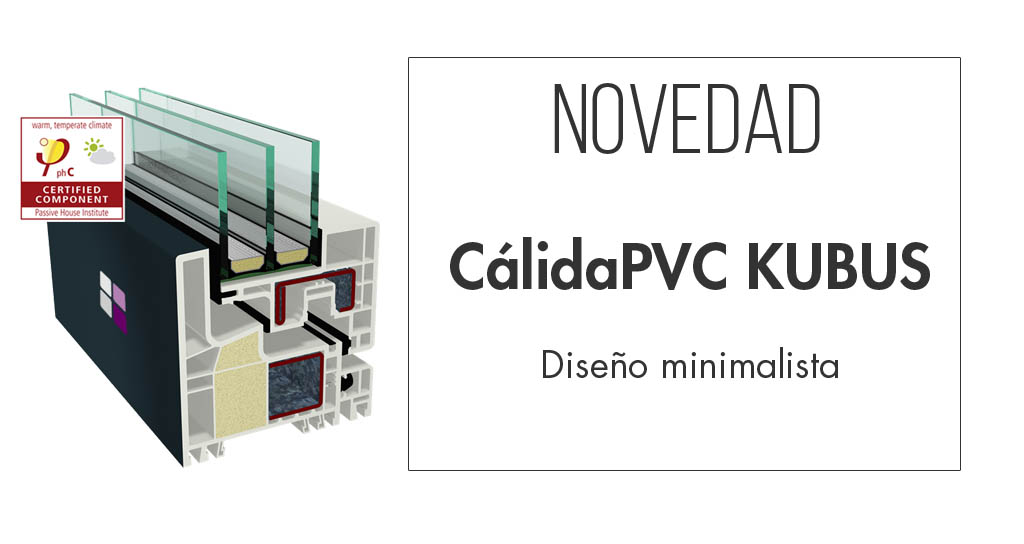 Novedad Cálida PVC Kubus